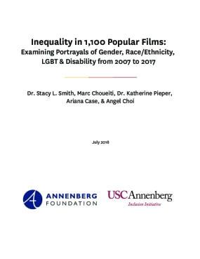 Inequality in 1,100 Popular Films.