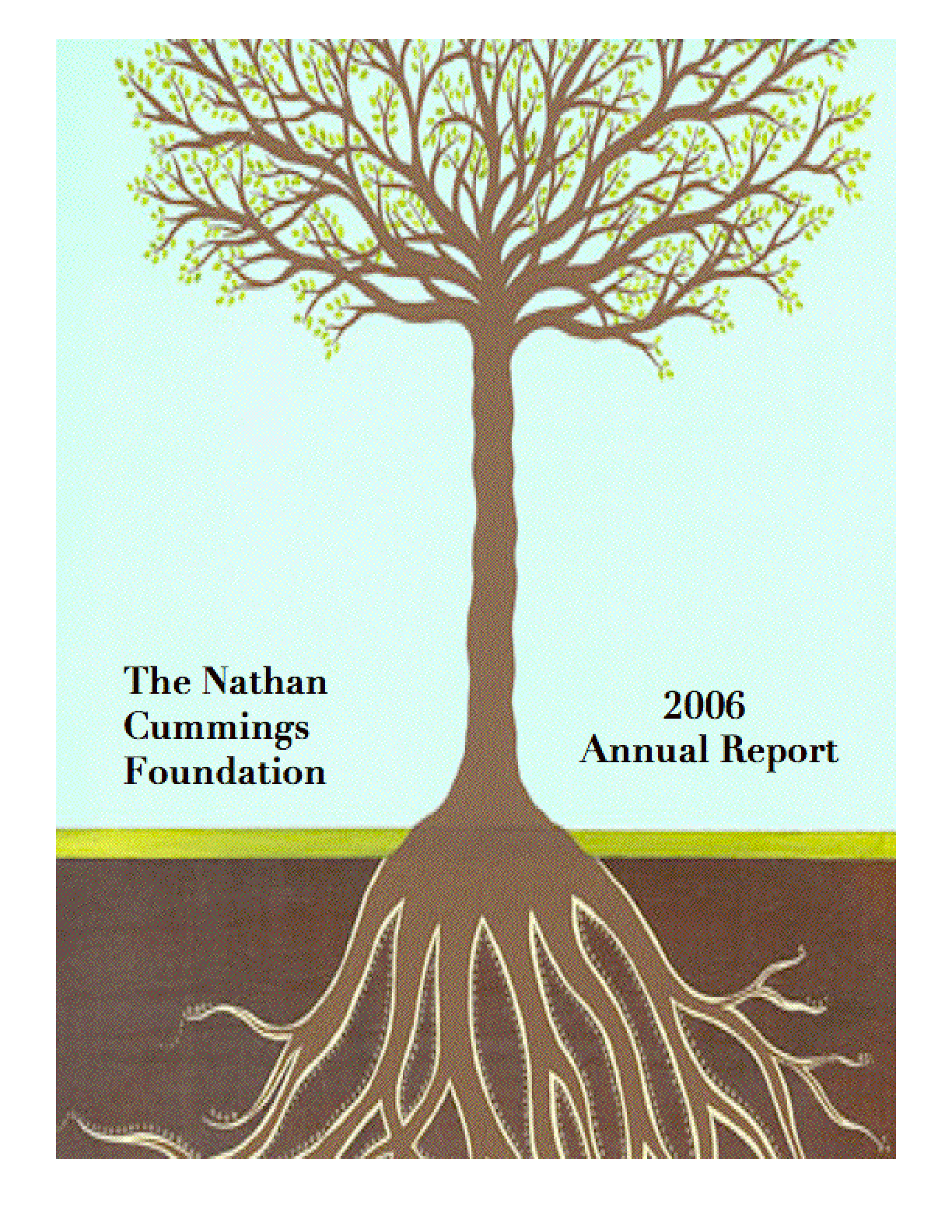 Nathan Cummings Foundation - 2006 Annual Report