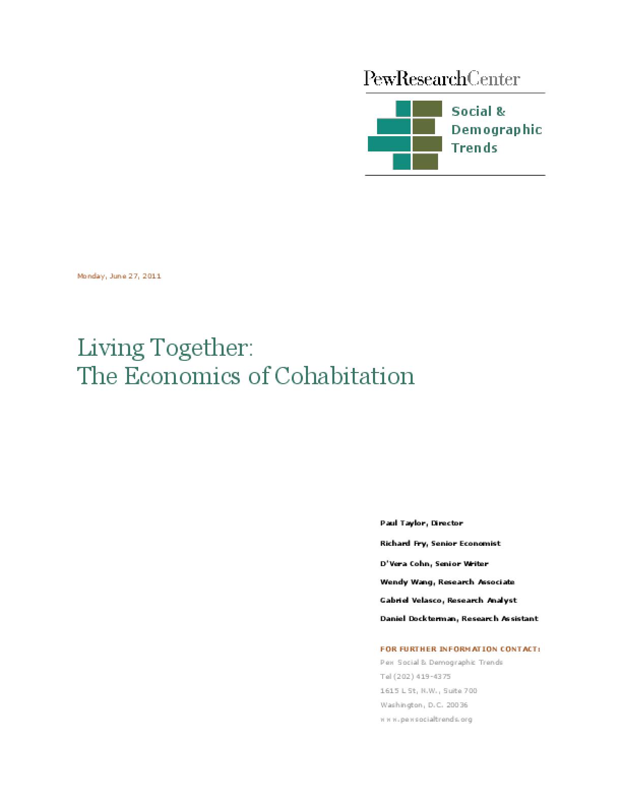 Living Together: The Economics of Cohabitation