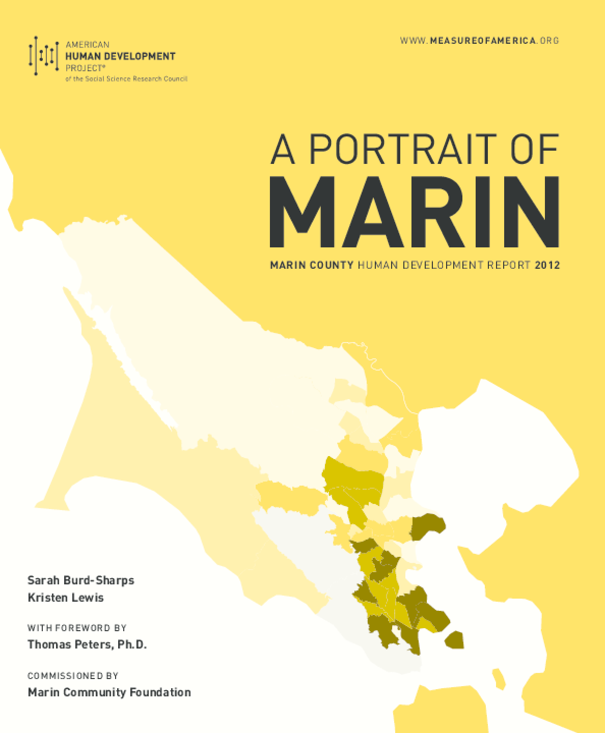 A Portrait of Marin: Marin County Human Development Report 2012
