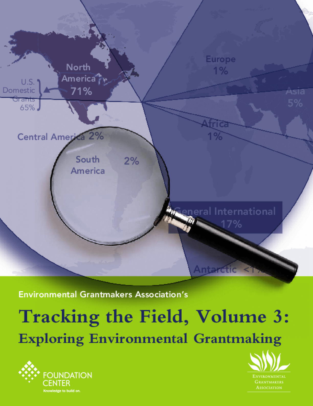 Tracking the Field, Volume 3: Exploring Environmental Grantmaking