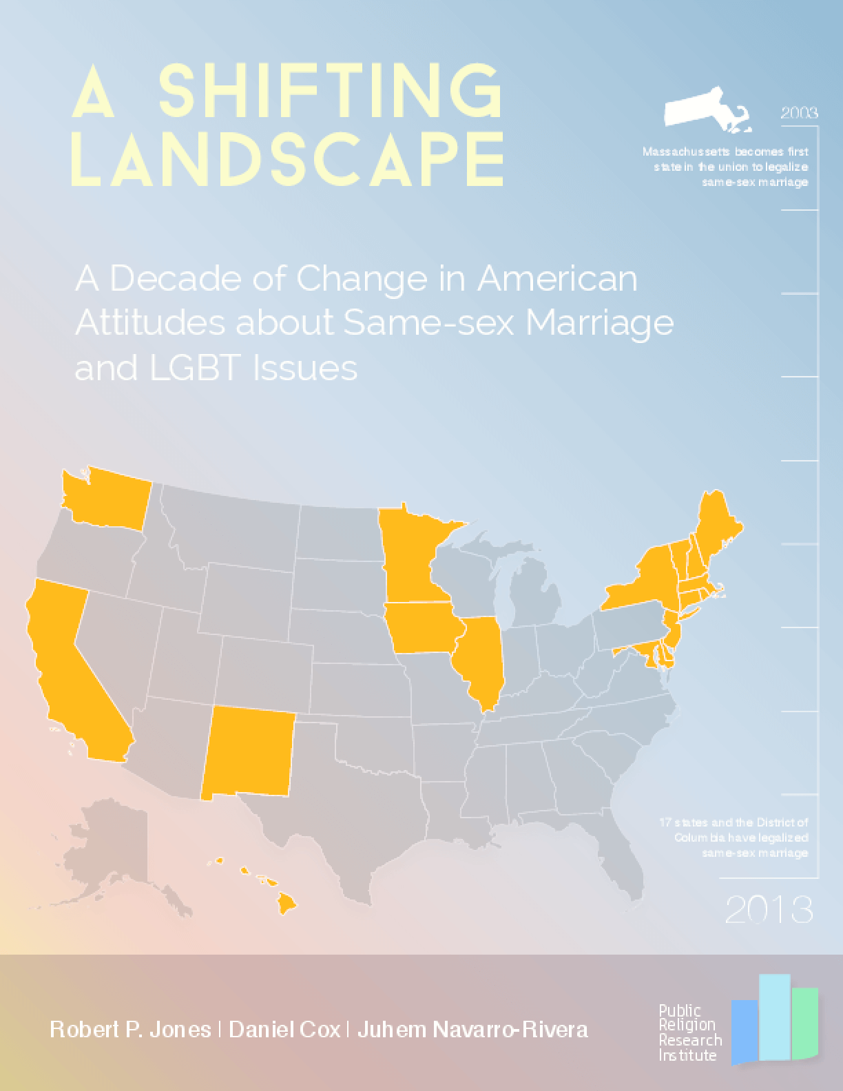 A Shifting Landscape: A Decade of Change in American Attitudes about Same-Sex Marriage and LGBT Issues