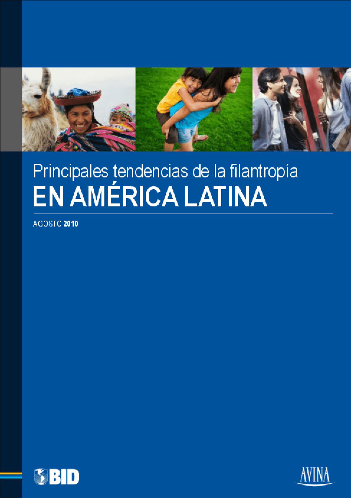 Principales tendencias de la filantropia en America Latina