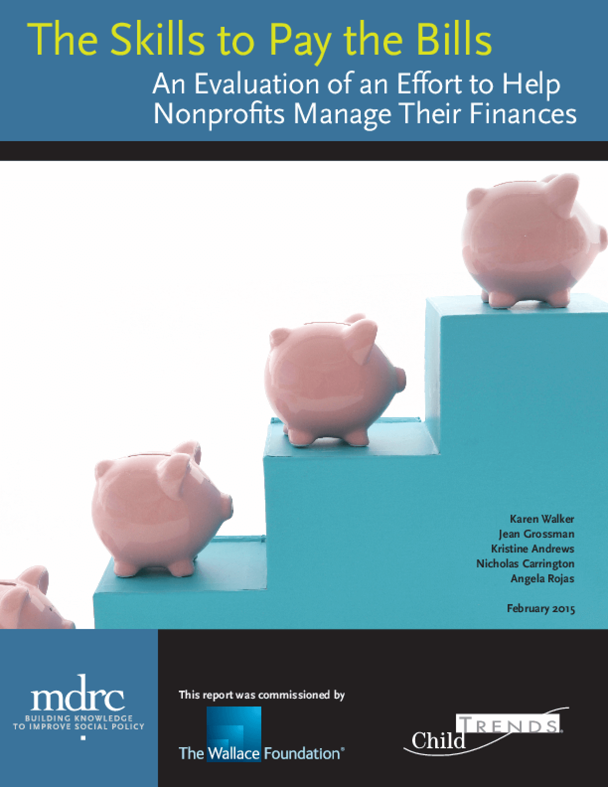 The Skills to Pay the Bills: An Evaluation of an Effort to Help Nonprofits Manage Their Finances