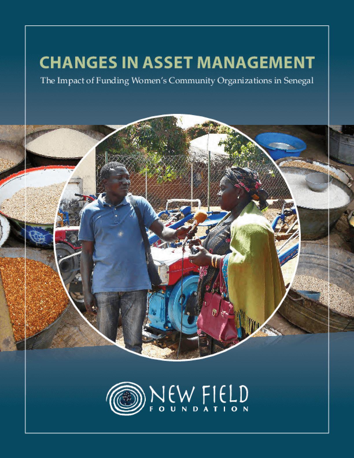 Changes in Asset Management