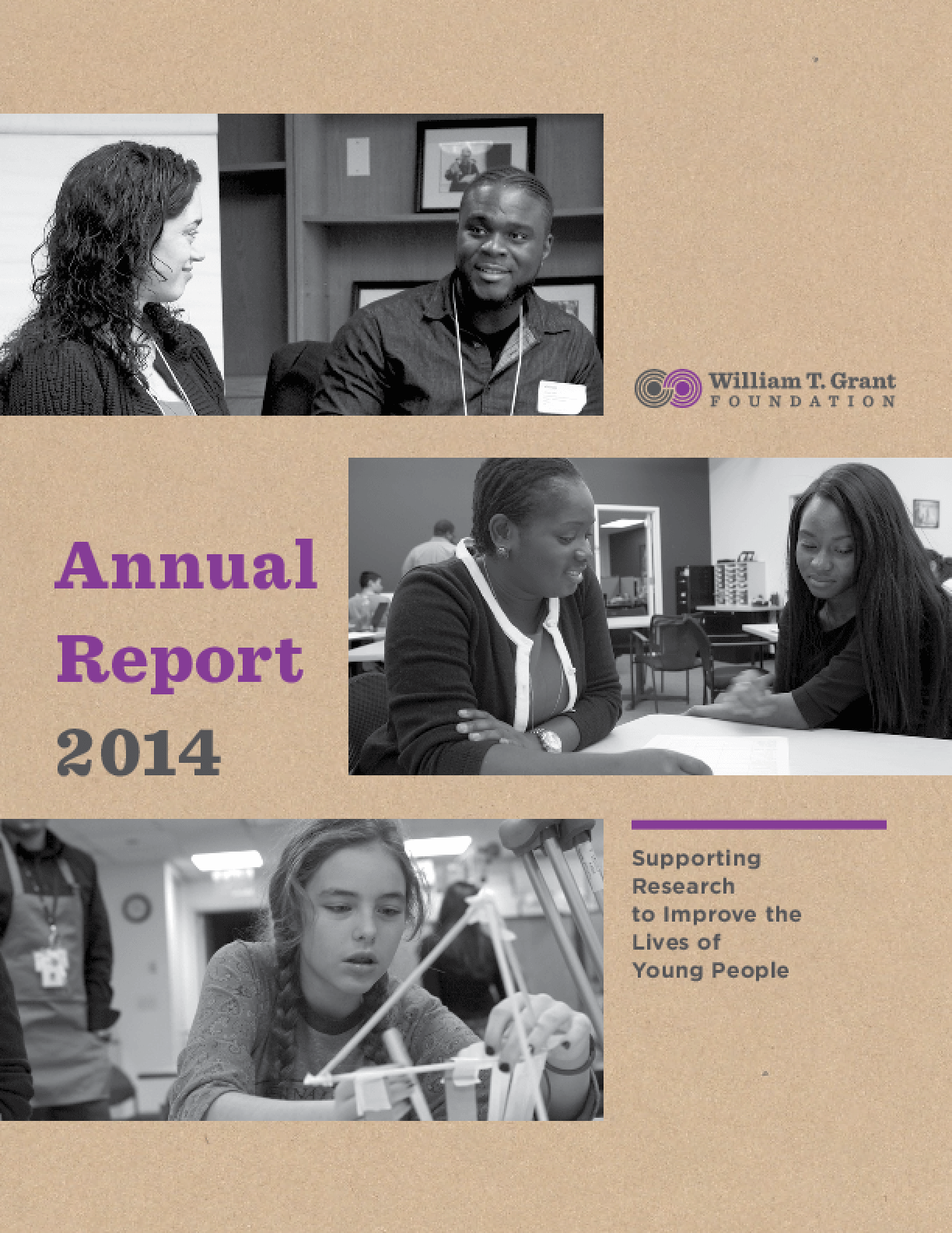 William T. Grant Foundation: Annual Report 2014