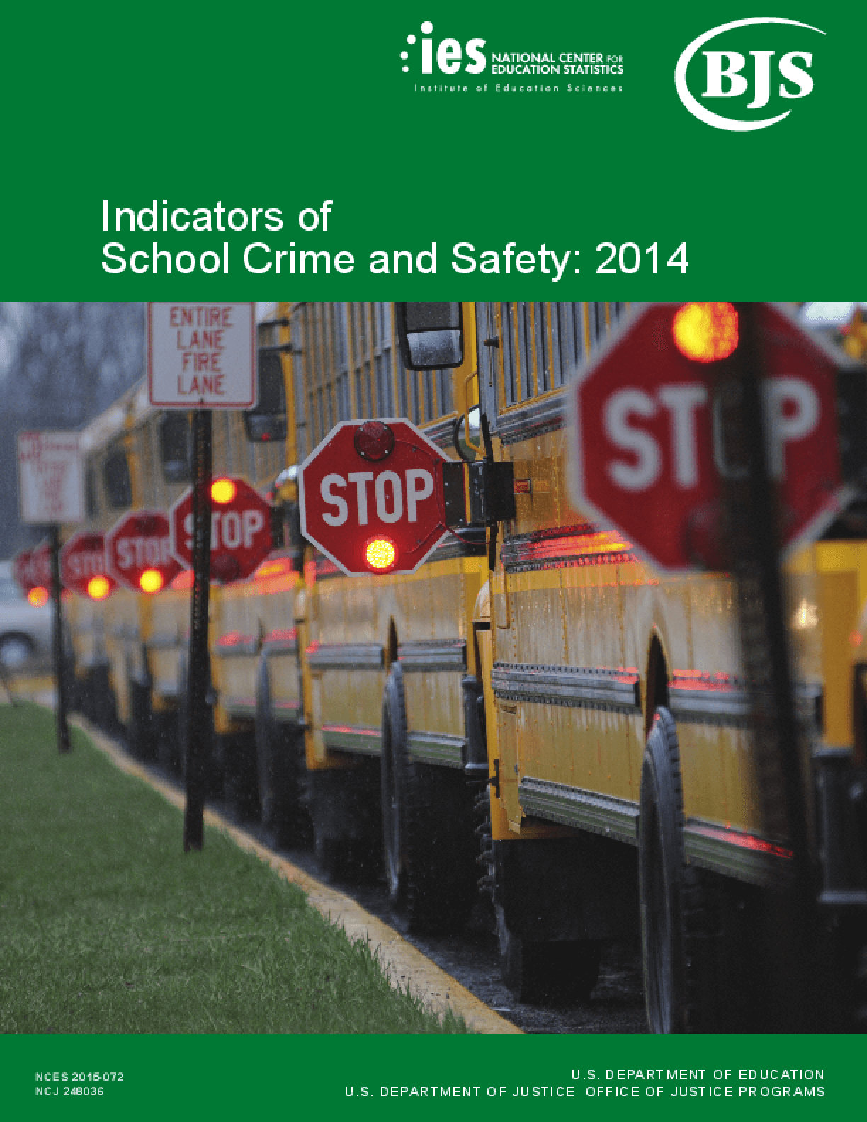 Indicators of School Crime and Safety: 2014