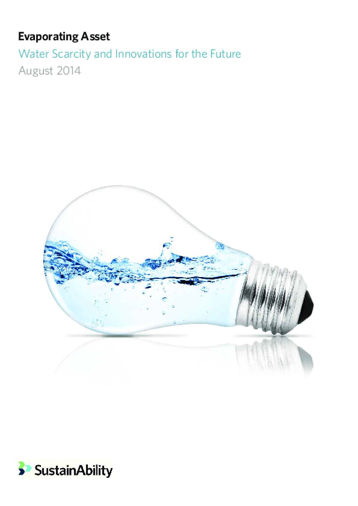 Evaporating Asset: Water Scarcity and Innovations for the Future