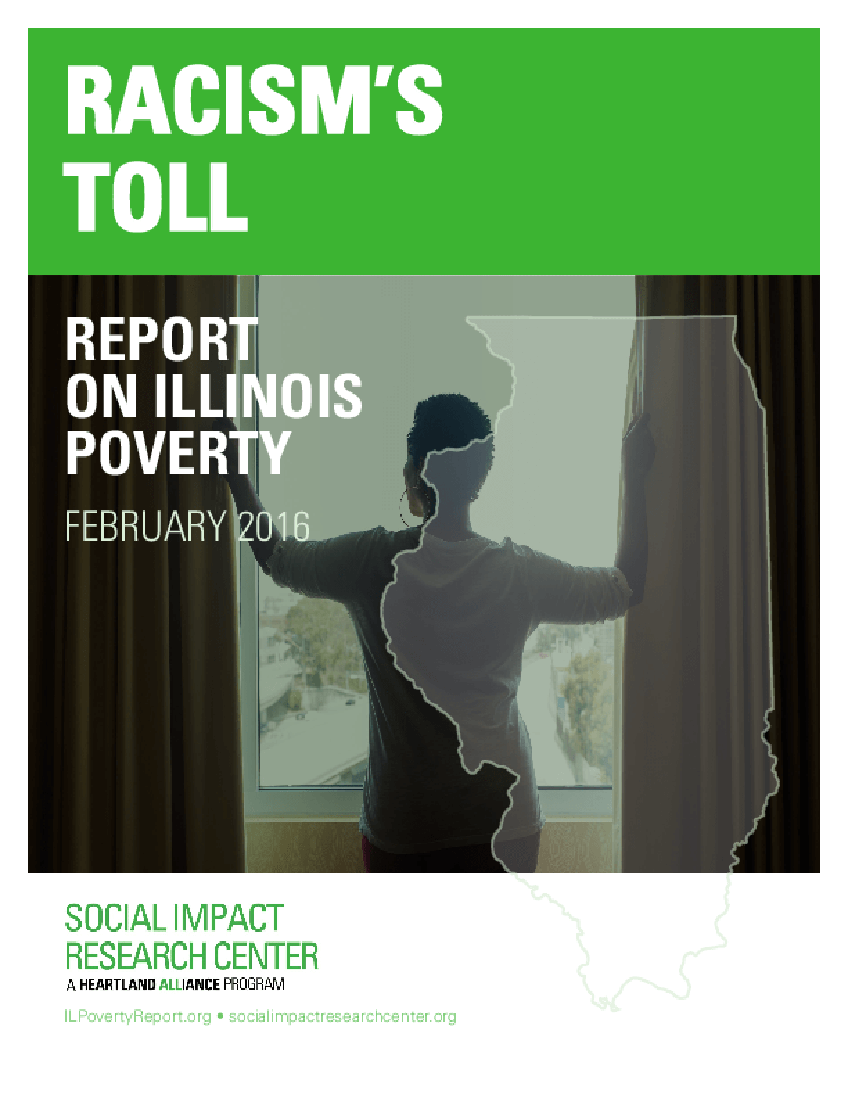 Racism's Toll: Report on Illinois Poverty