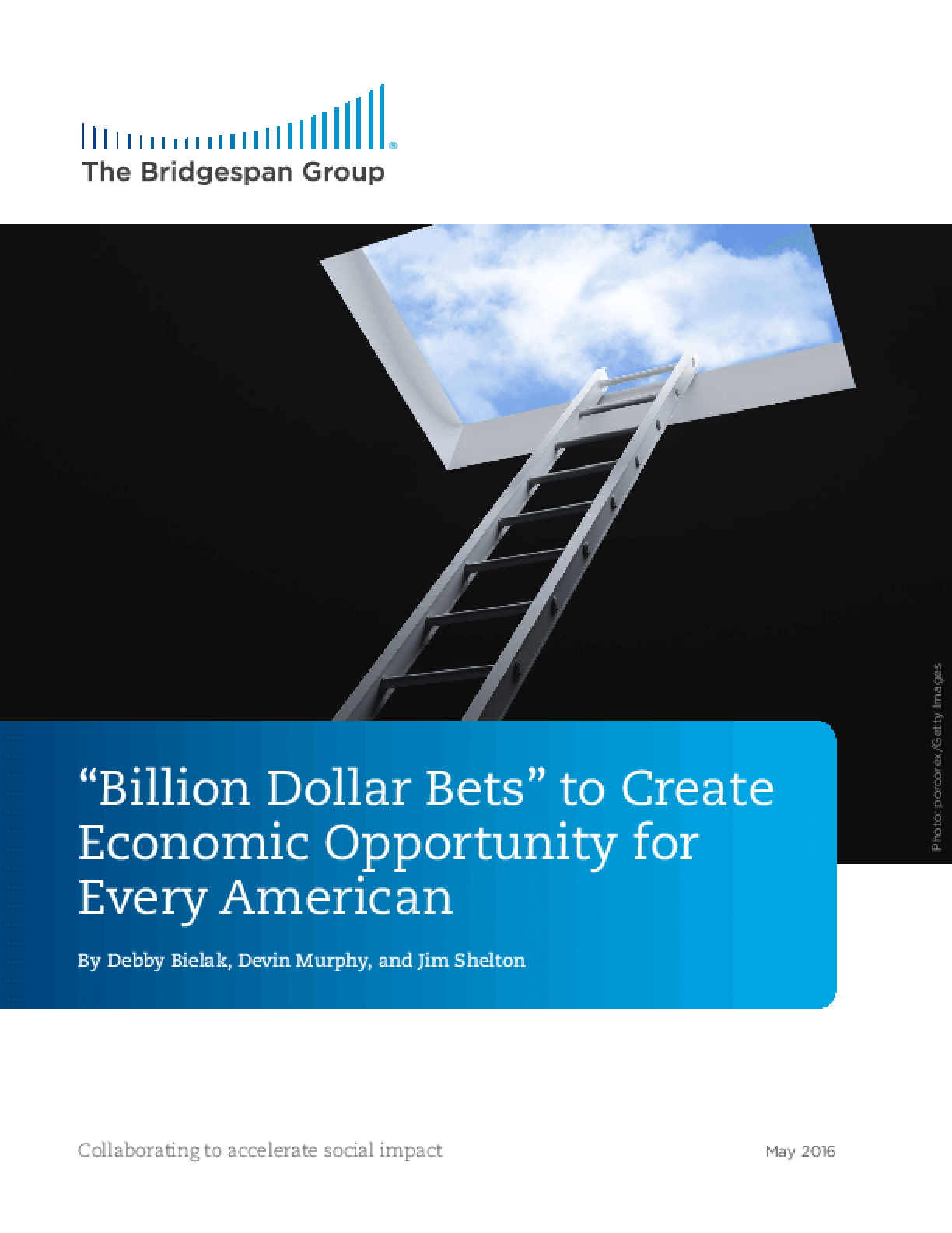 """Billion Dollar Bets"" to Create Economic Opportunity for Every American"