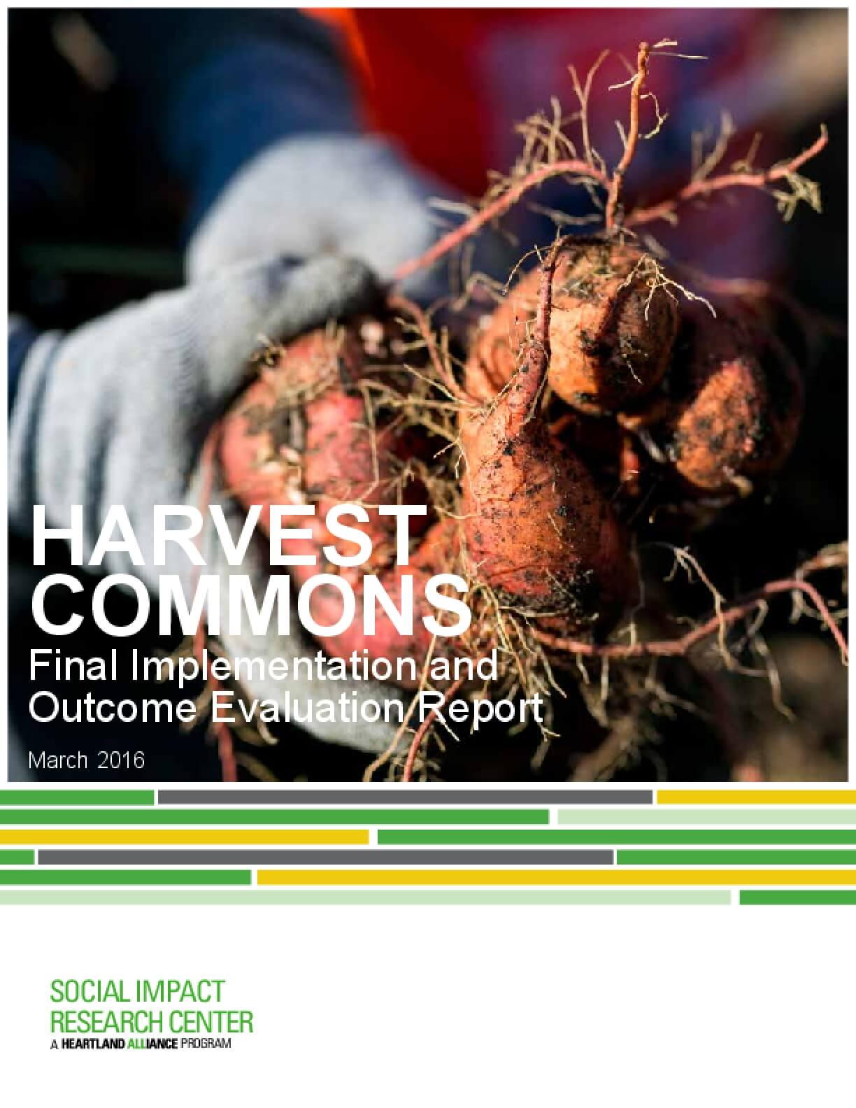 Harvest Commons: Final Implementation and Outcome Evaluation Report