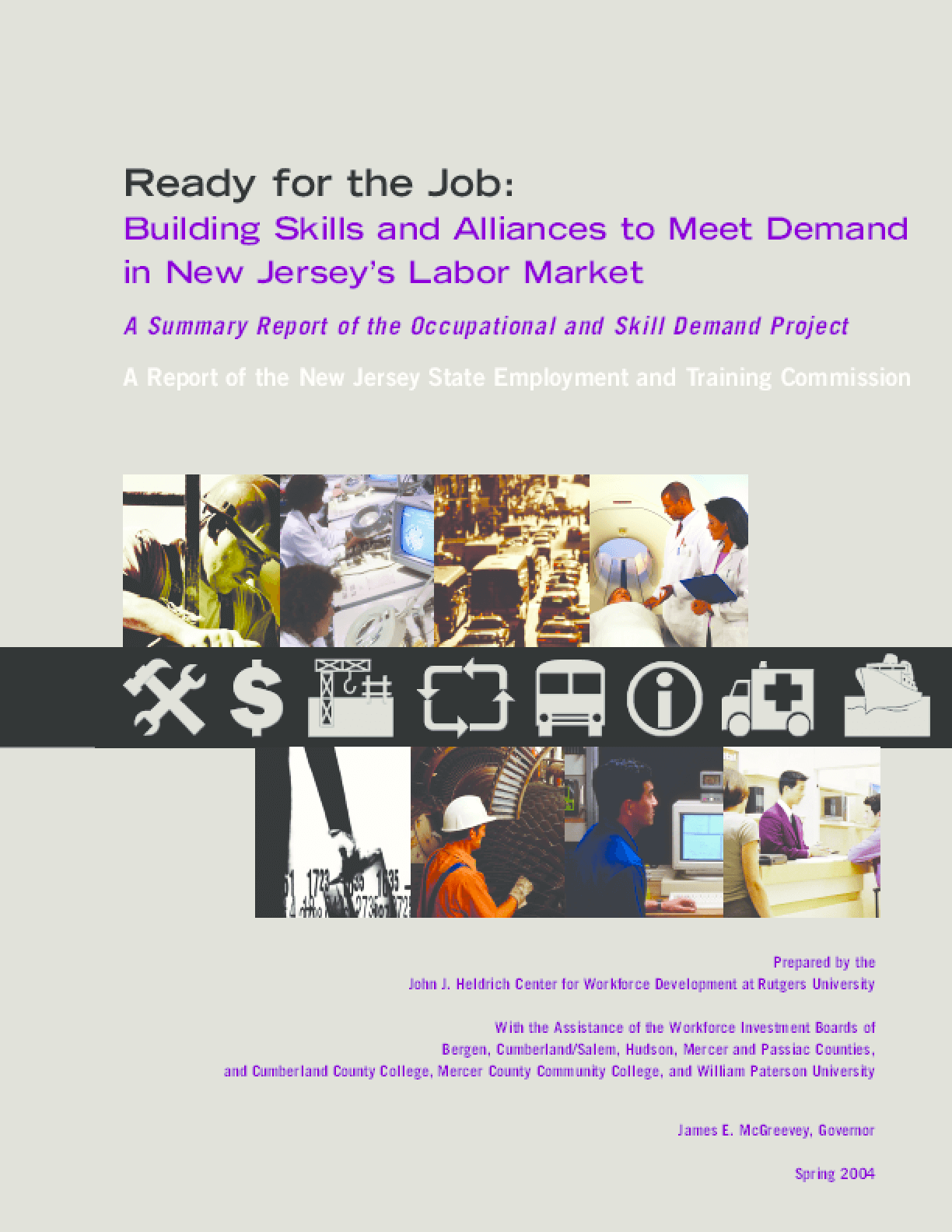 Building Skills and Alliances to Meet Demand in New Jersey's Labor Market