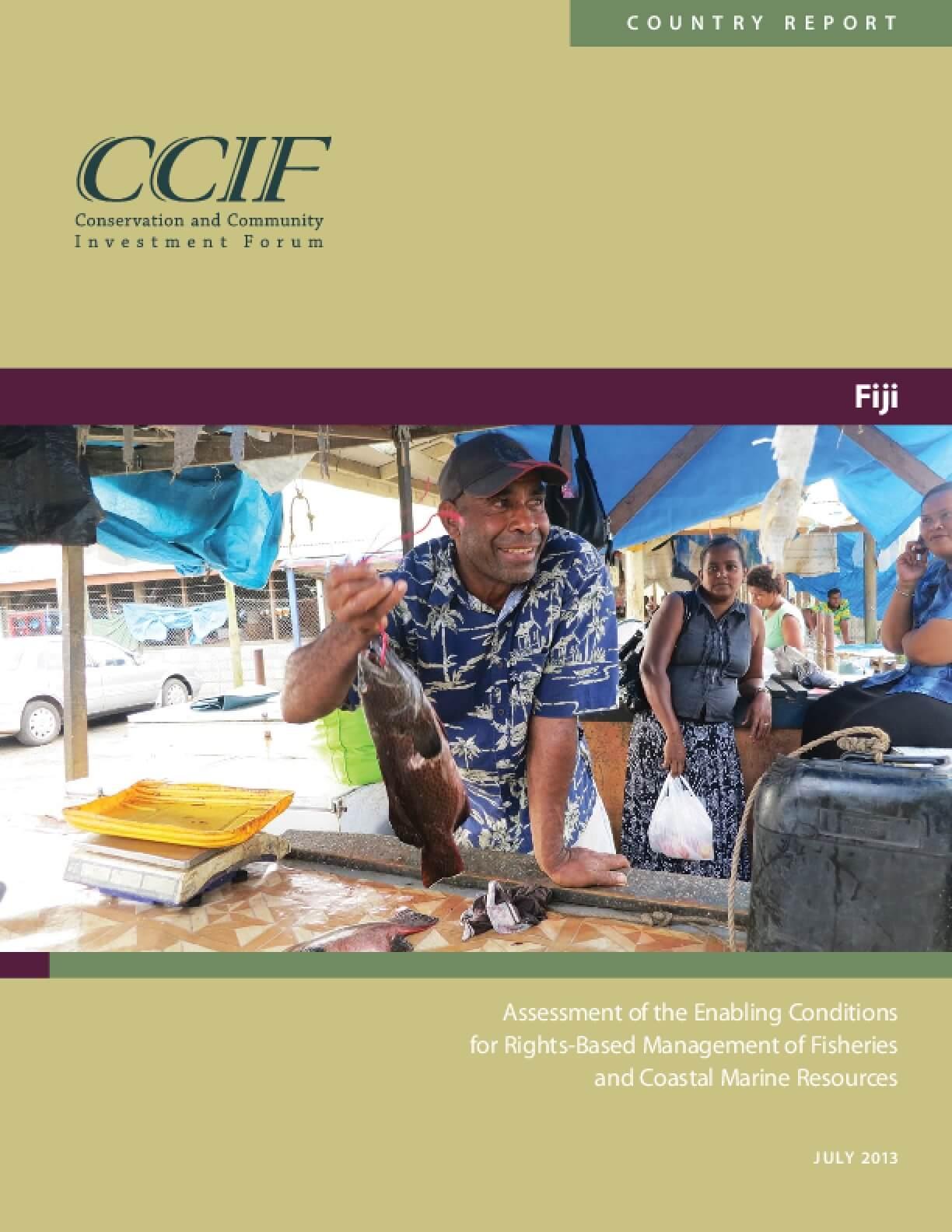 Fiji Country Report