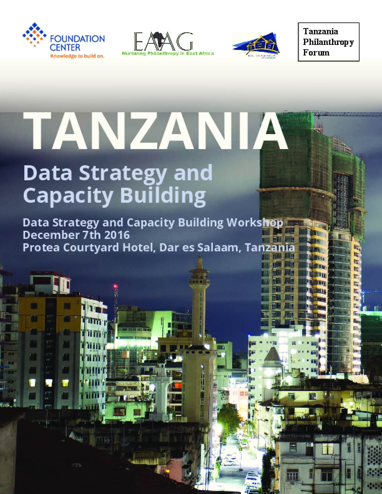 Tanzania: Data Strategy and Capacity Building (2nd Report)