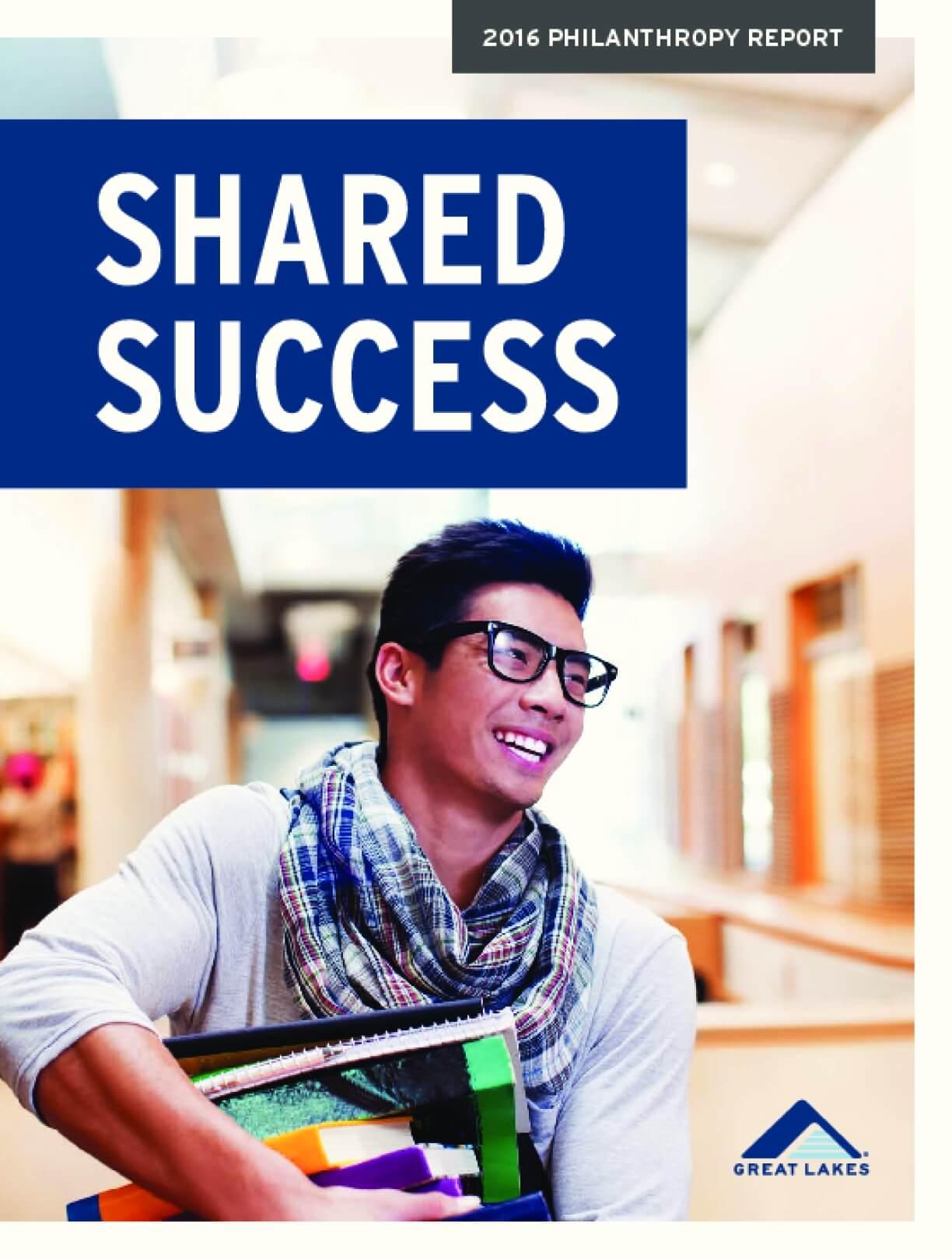 2016 Philanthropy Report: Shared Success