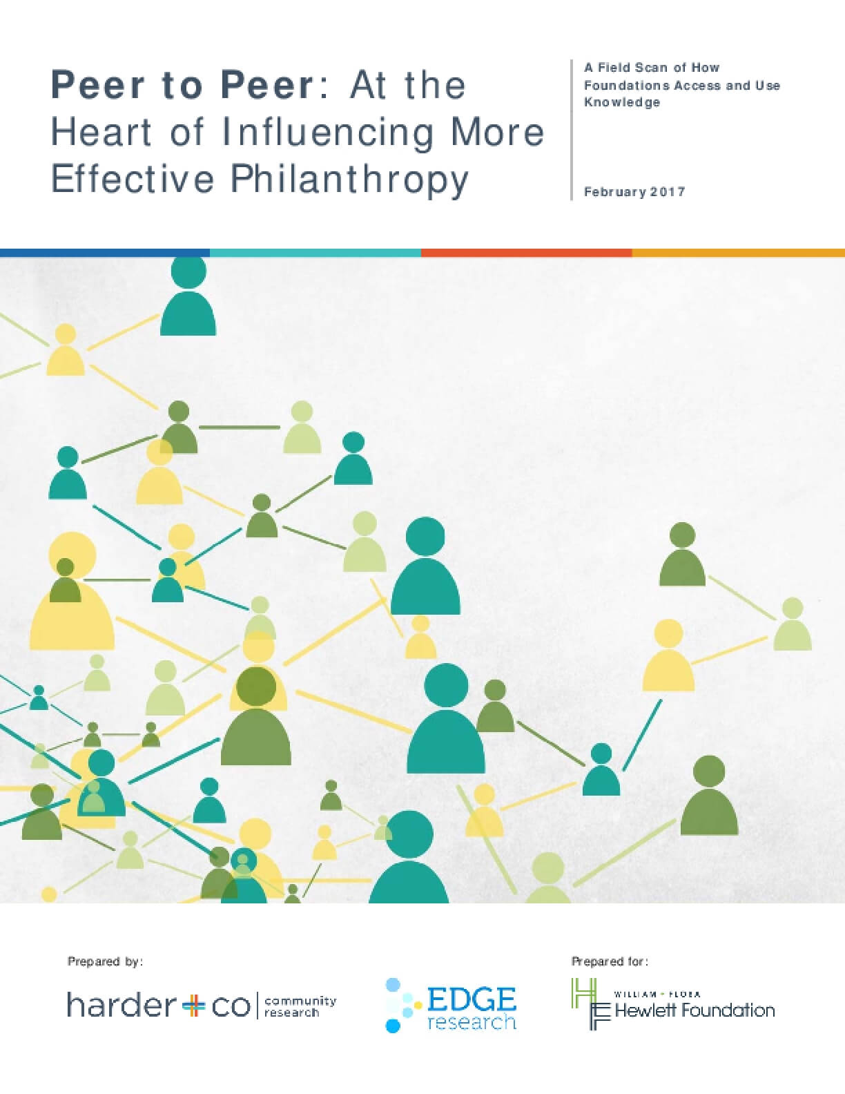 Peer to Peer: At the Heart of Influencing More Effective Philanthropy