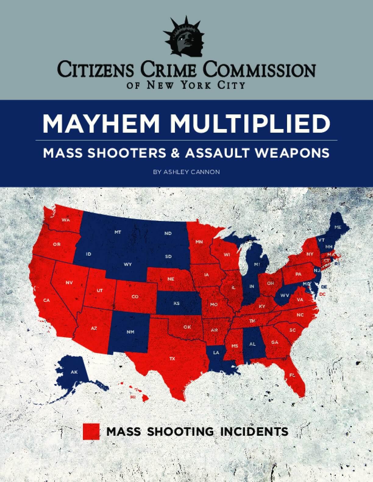 Mayhem Multiplied: Mass Shooters & Assault Weapons
