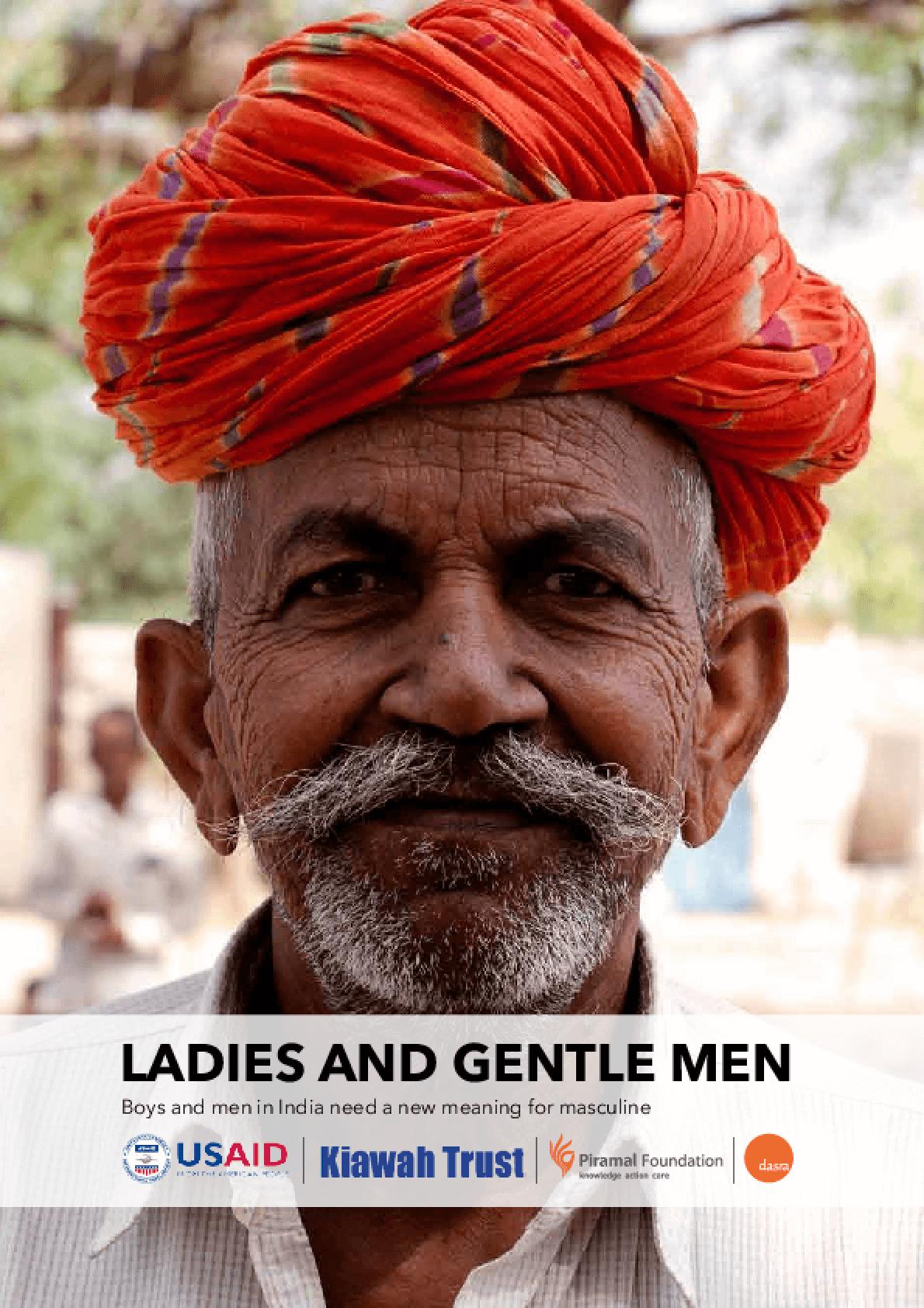 Ladies and Gentle Men: Engaging men and boys