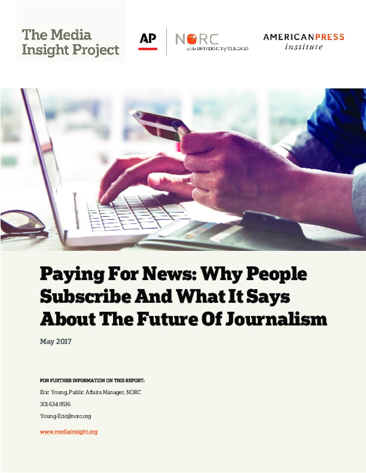 Paying for News: Why People Subscribe and What it Says about the Future of Journalism