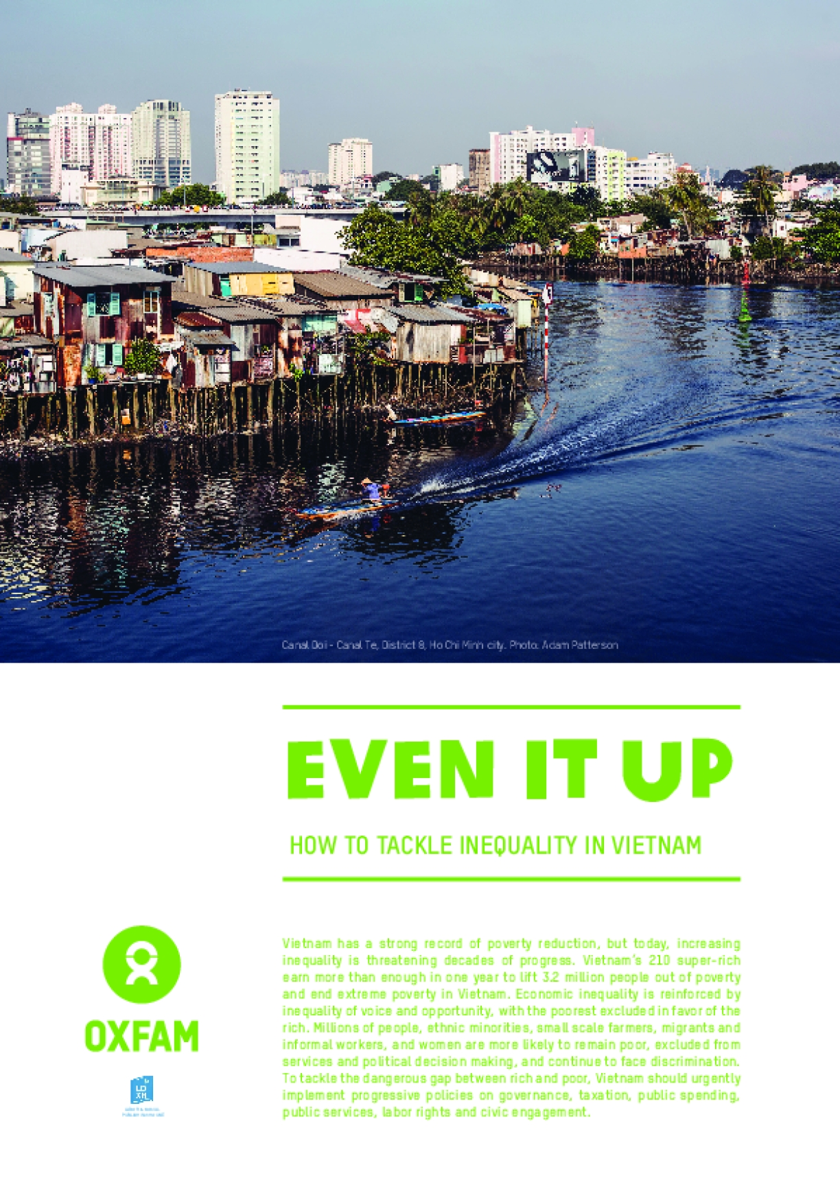 Even it Up: How to Tackle Inequality in Vietnam
