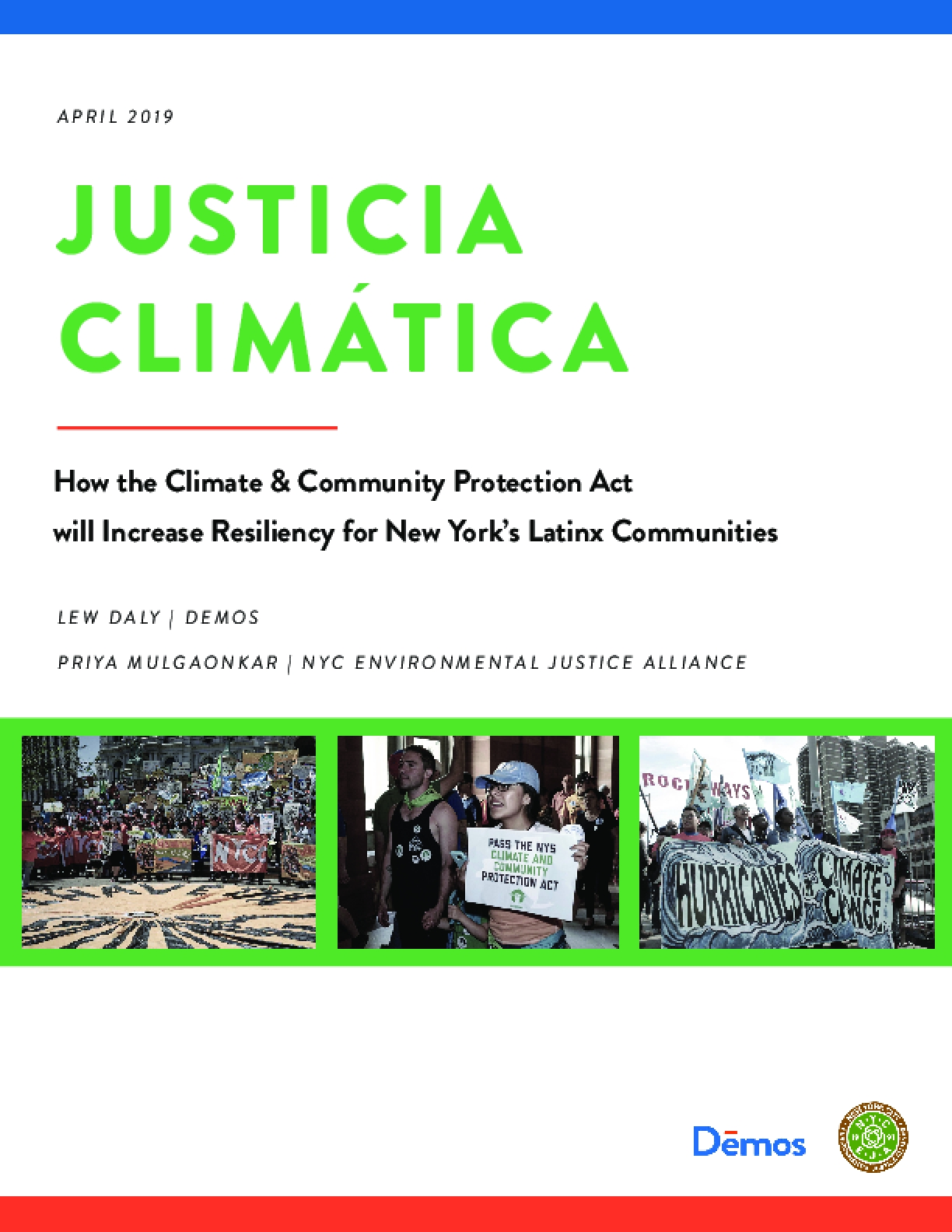 Justicia Climatica: How the Climate & Community Protection Act will Increase Resiliency for New York's Latinx Communities