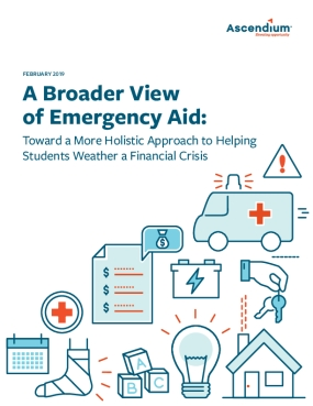 A Broader View of Emergency Aid: Toward a More Holistic Approach to Helping Students Weather a Financial Crisis