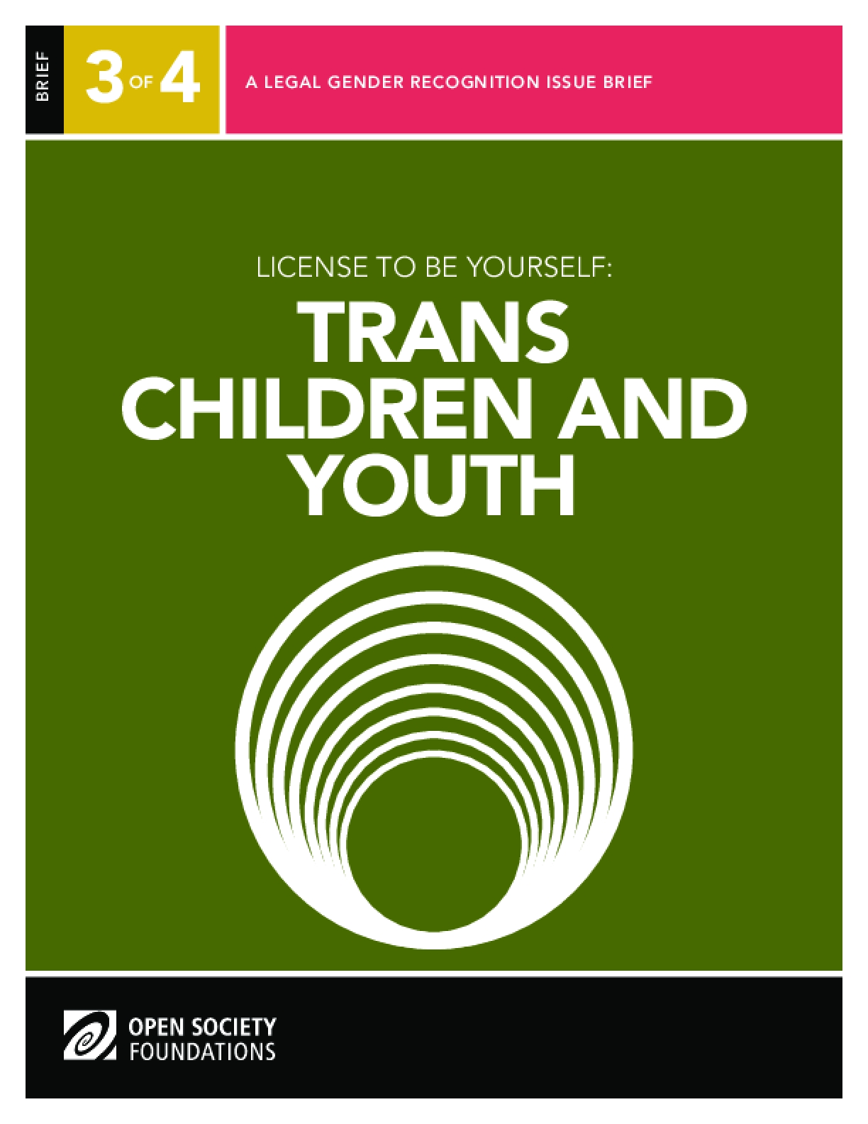 License to Be Yourself: Trans Children and Youth