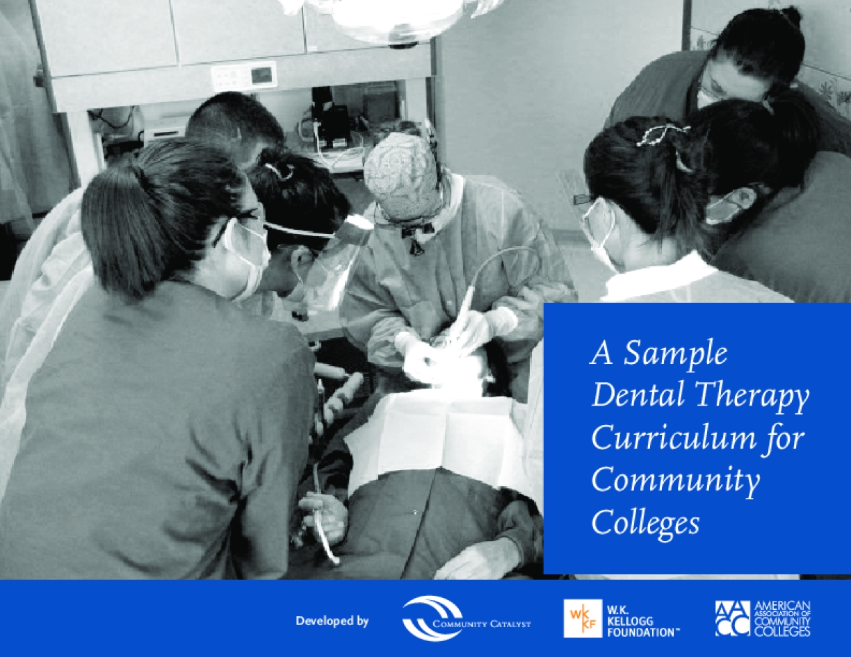 A Sample Dental Therapy Curriculum for Community Colleges