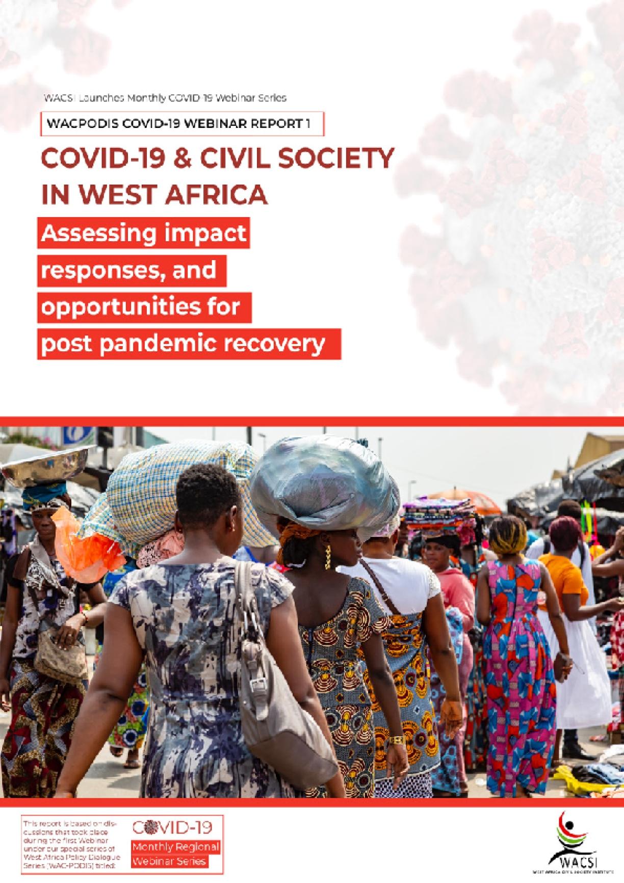 WACPODIS – COVID19 Series Report 1 (May 2020)