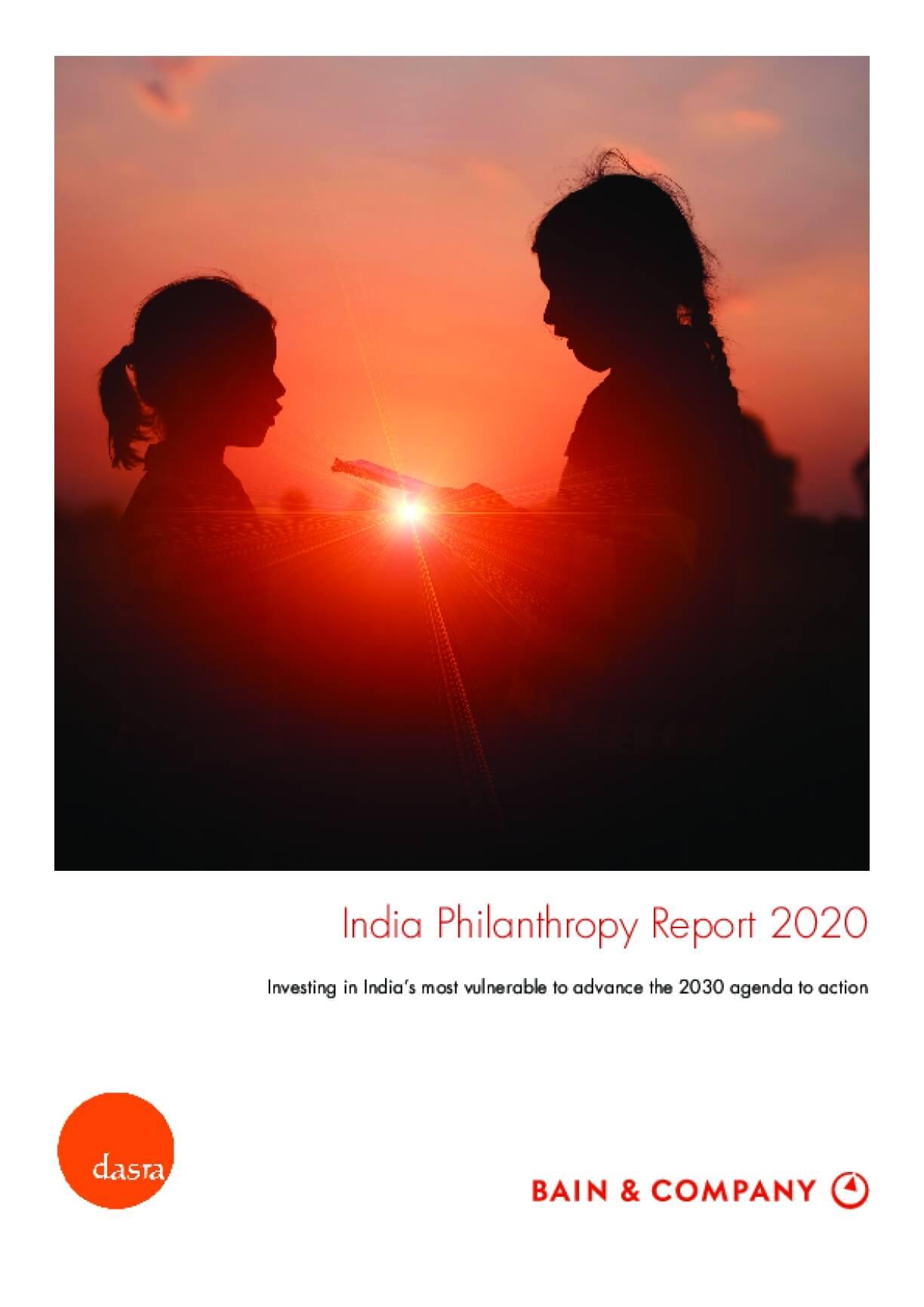 India Philanthropy Report 2020