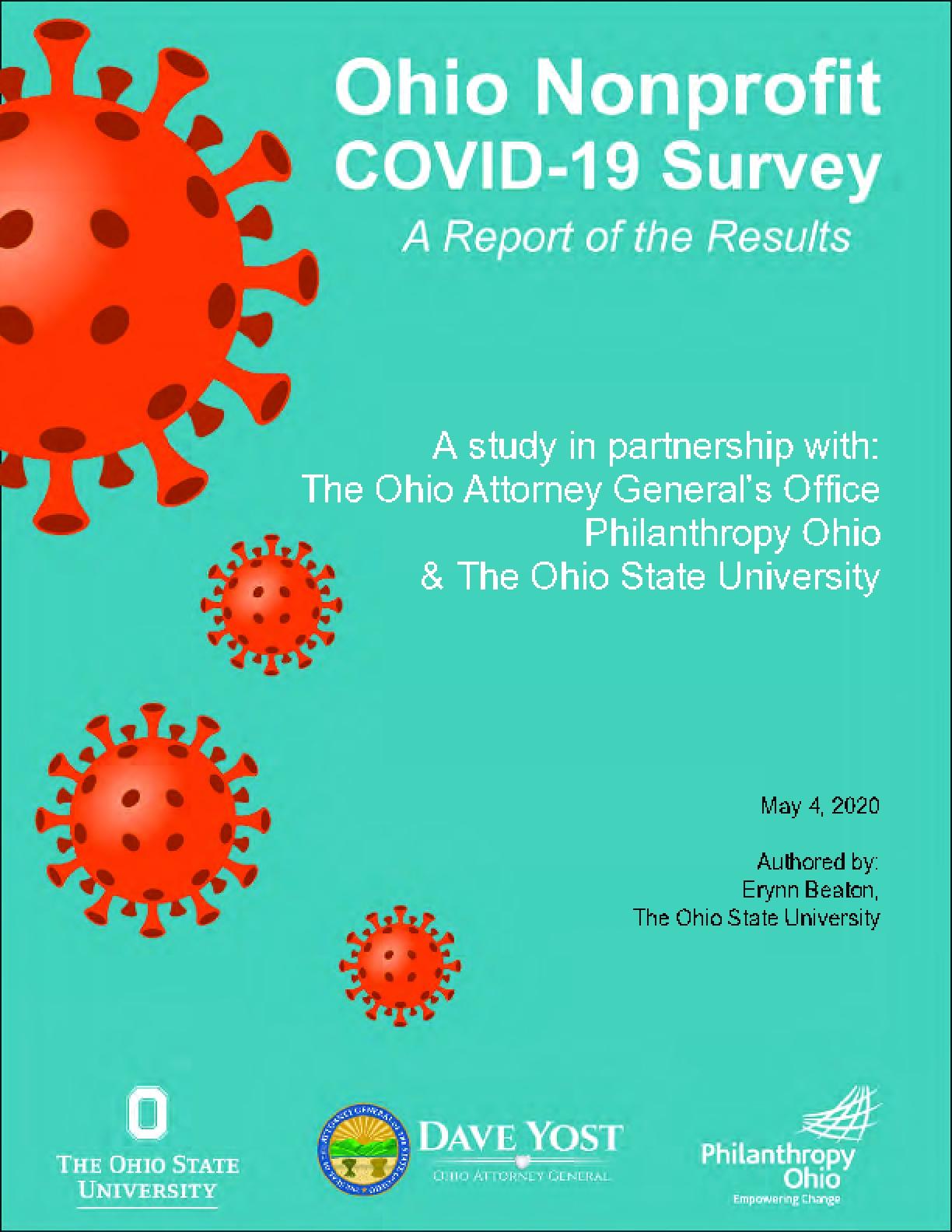 Ohio Nonprofit COVID-19 Survey: A Report of the Results