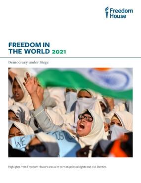 Freedom in the World 2021: Democracy under Siege