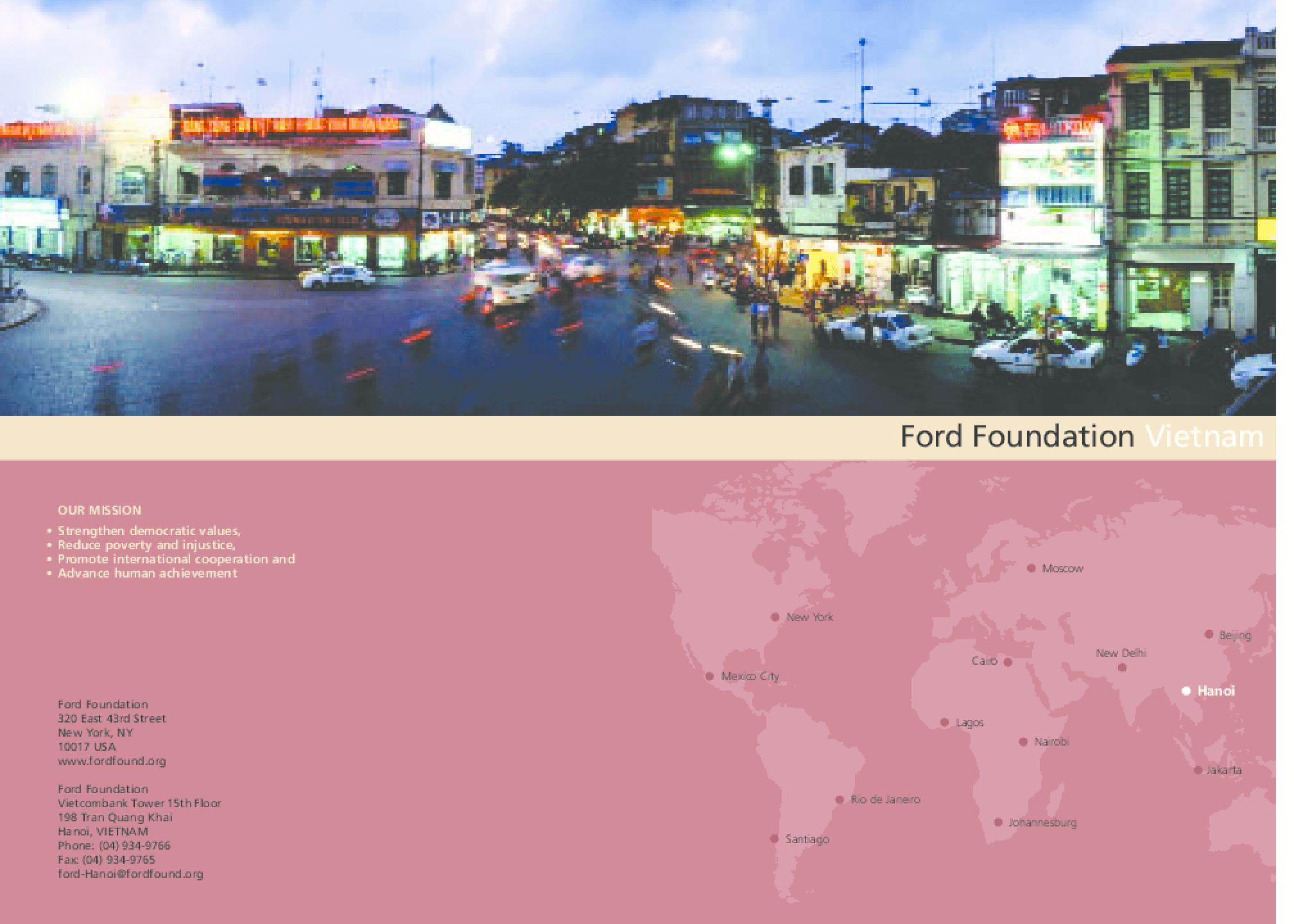 Ford Foundation Vietnam