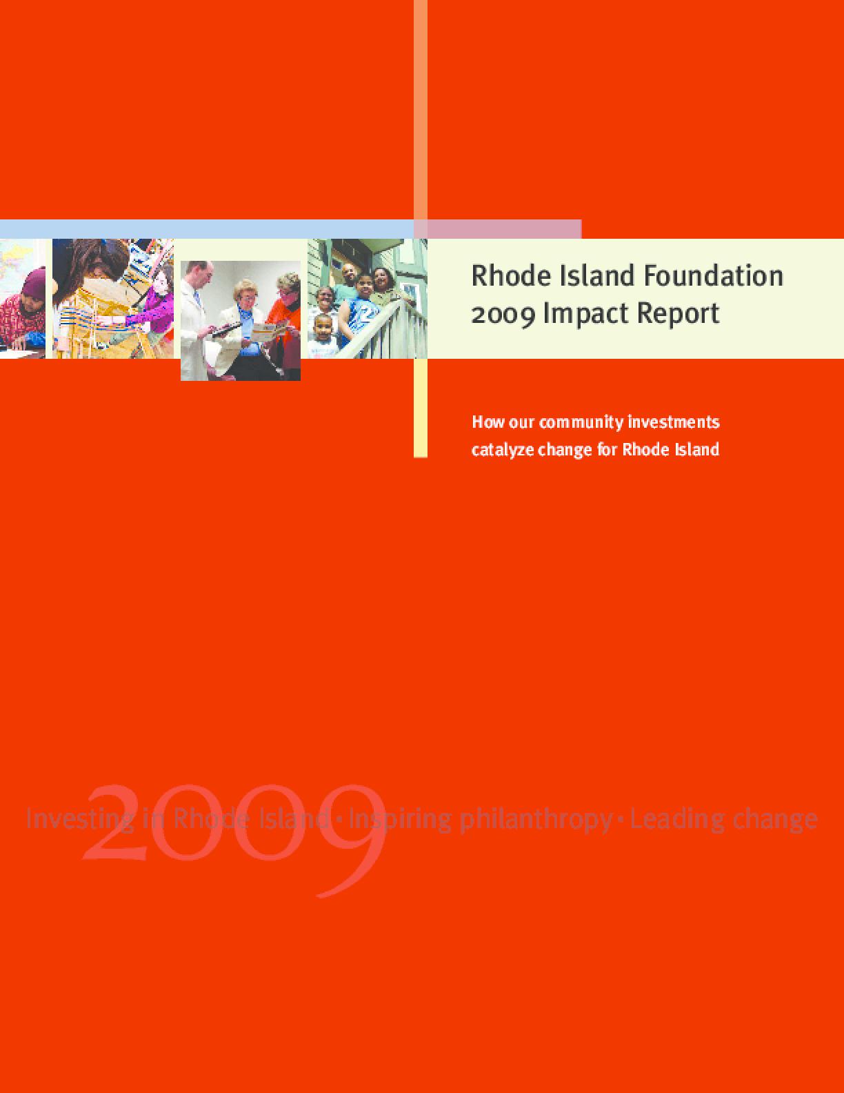 2009 Impact Report