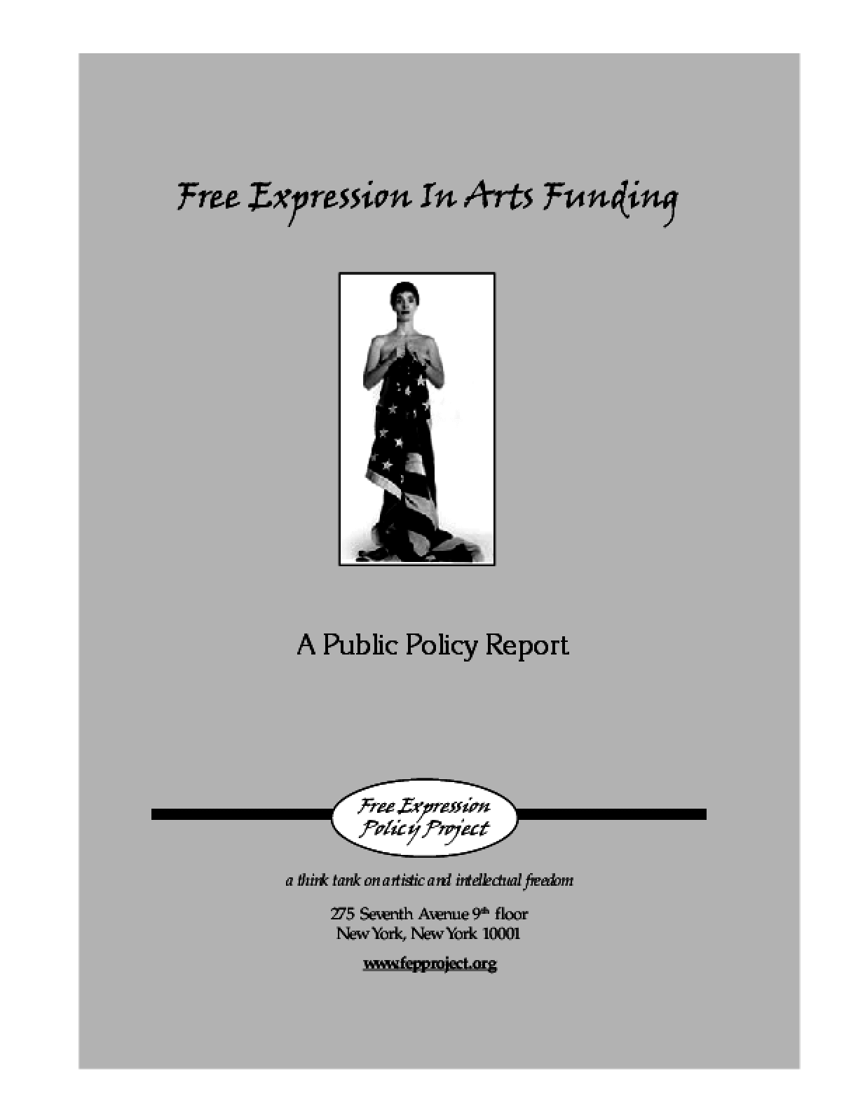 Free Expression in Arts Funding
